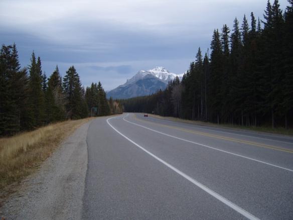 Photo credit: Annie Zalezsak, road to Banff