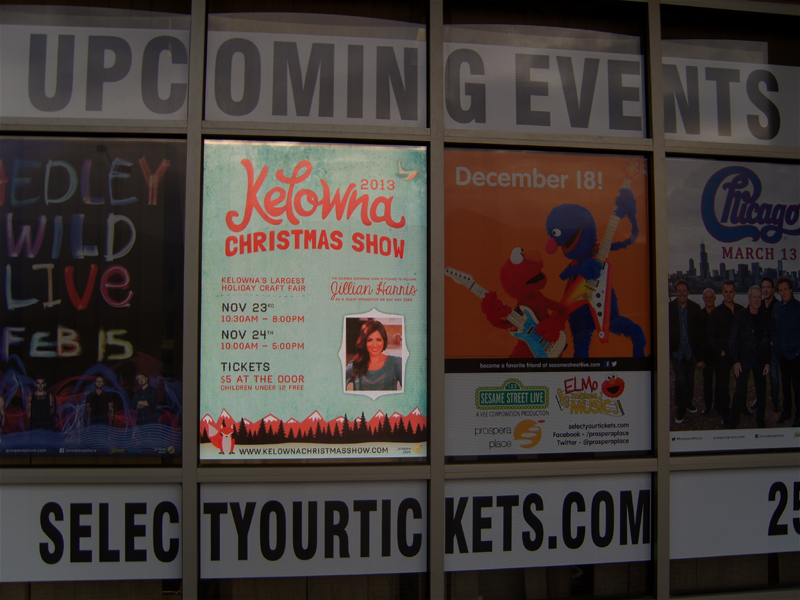 Kelowna Christmas Show 2013 at Prospera Place