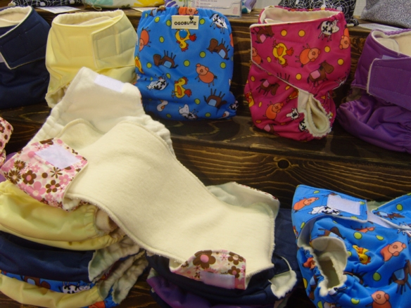 Cloth diapers at Ogobumz