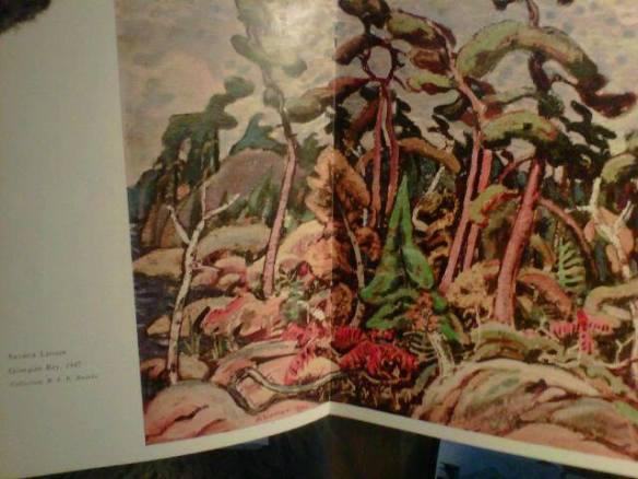 Arthur Lismer, Georgian Bay 1947, Christmas 1951 centrefold, Canadian Art Magazine - Odette Nicholson