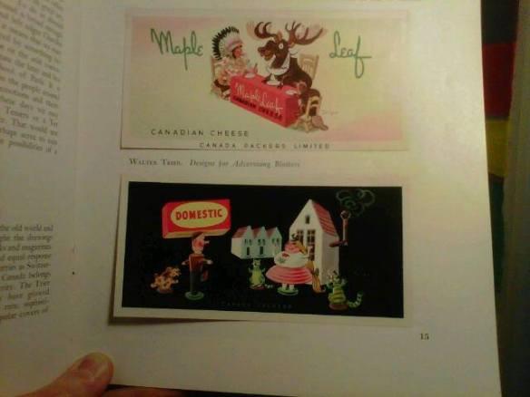 Canada Packers ads - Canadian Art Magazine - Odette Nicholson