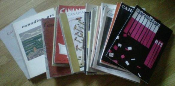 Canadian Art Magazine 1948-58 - Odette Nicholson -