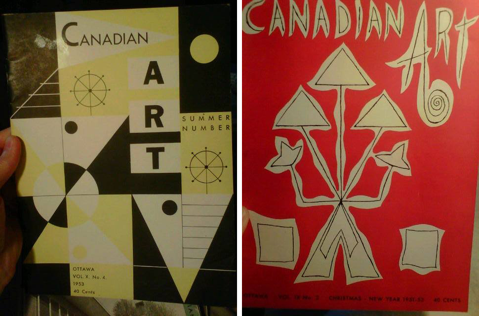 Covers - Canadian Art Magazine - Odette Nicholson
