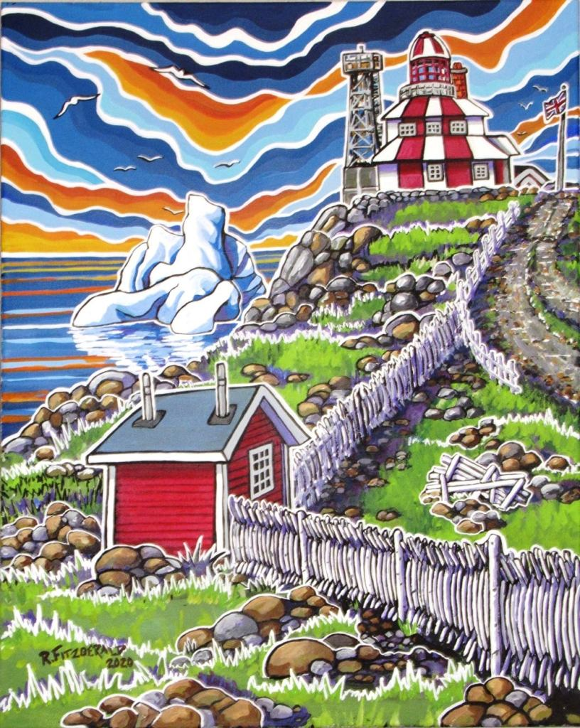 Cape Bonavista by Reilly Fitzgerald