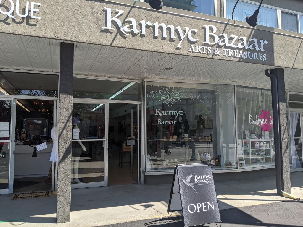 Karmyc Bazaar at 2995 Pandosy Street in Kelowna, BC